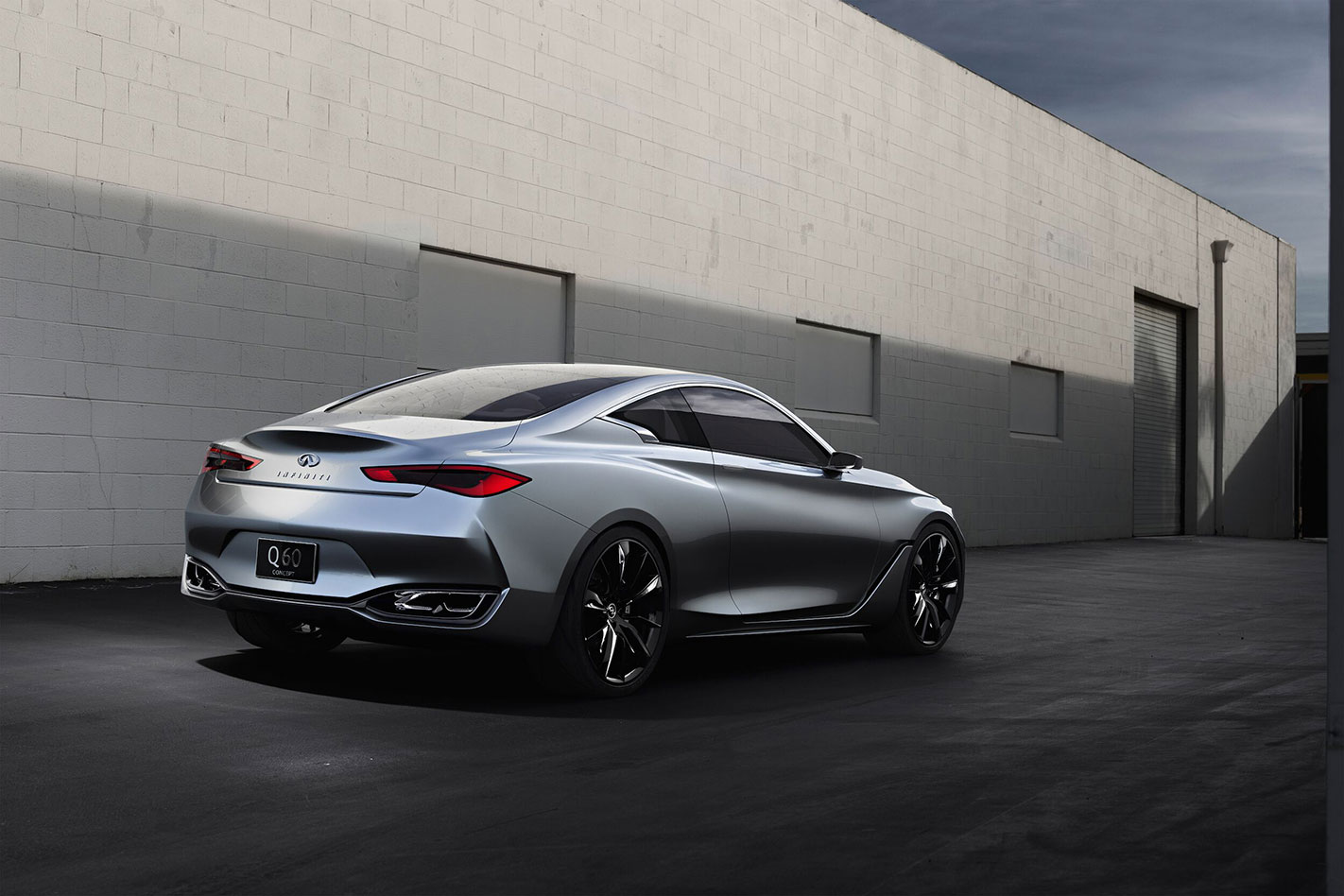 Twin-turbo Infiniti Q60 Coupe