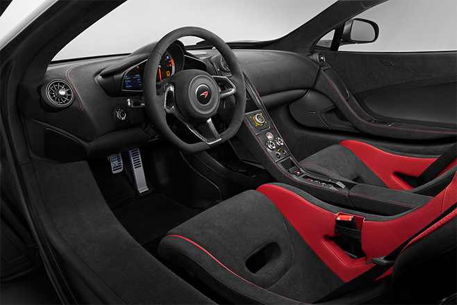 Mc Laren -P1-interior -embed