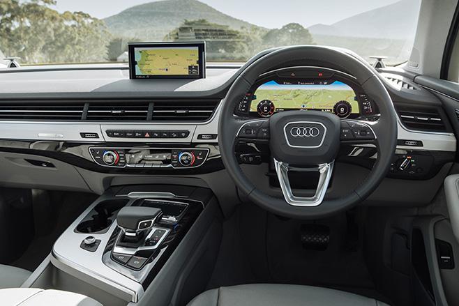 Audi -q 7-dash -autonomous -embed