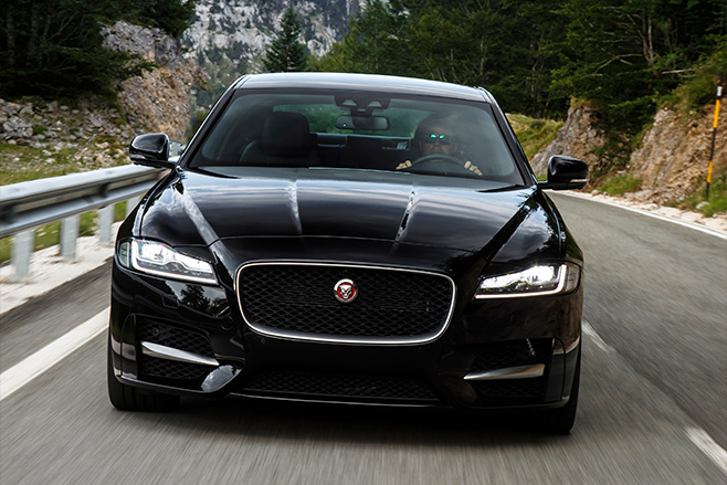 Jaguar xf review 2016