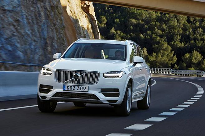 Volvo -xc 90-driverless