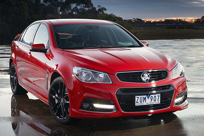 Holden -commodore -ss -v -redline