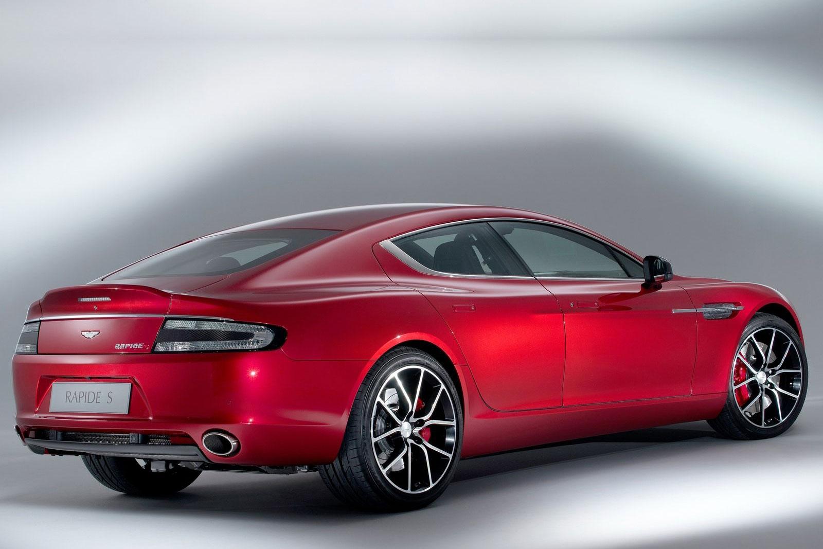 Aston -Martin -Rapide -rear