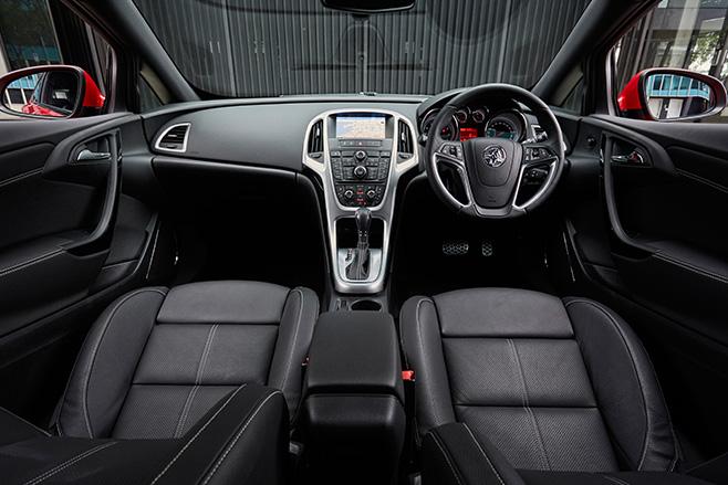 Holden Astra GTC Sport interior