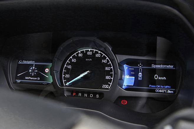 Ford -Ranger -dash