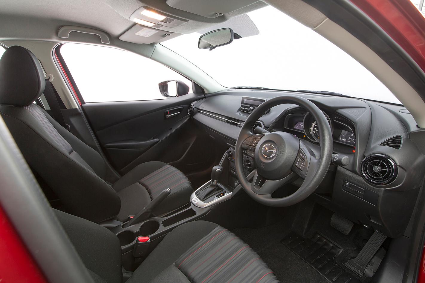 2015 Mazda2 Sedan review