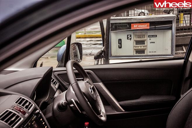 Subaru -forester -diesel -pump