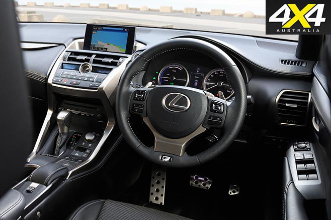 Lexus nx300h interior 9