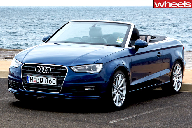 Audi -A3-Cabrio -front -side