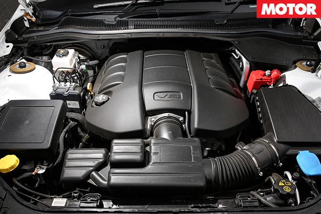 V8 engine 1