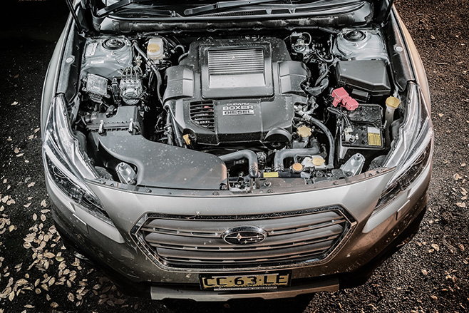 Subaru -outback -20d -engine