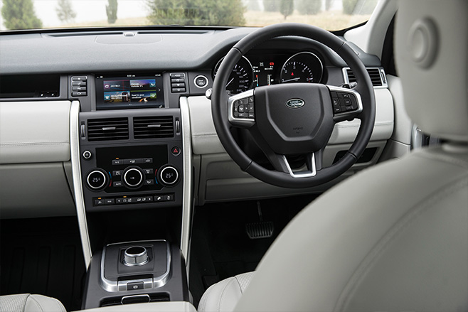 Land -Rover -Discovery -Sport -interior-