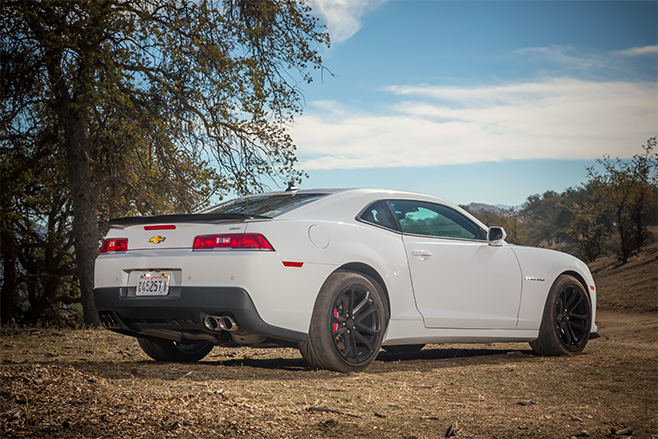 Chevrolet -camaro -rear
