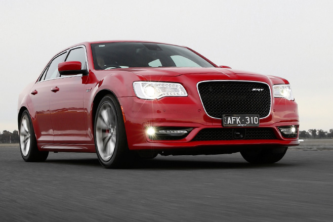 Chrysler -SRT-8-front