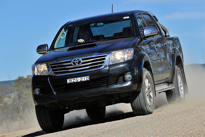 Toyota -hilux -moves -to -third -ute -sales