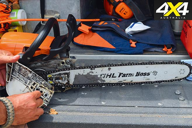 Chainsaw maintenance 3