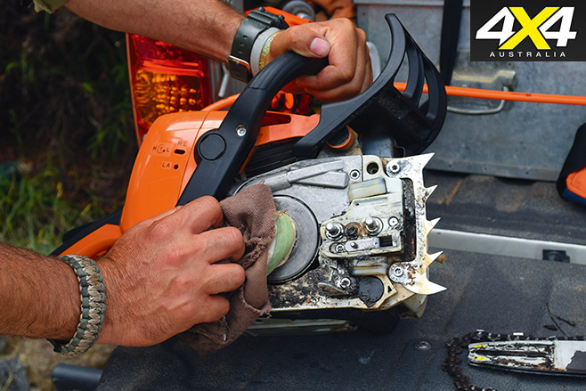 Chainsaw maintenance 5