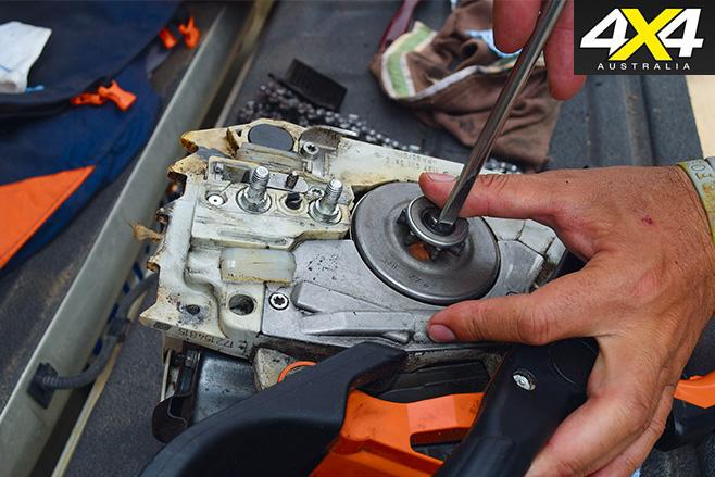Chainsaw maintenance 7