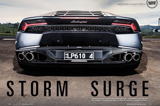 Lamborghini storm
