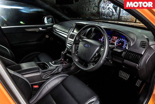 Ford XR6T Ute interior