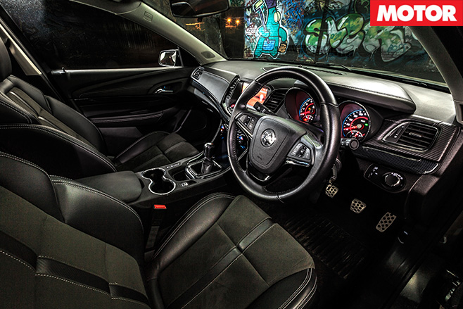 Holden SS Ute interior