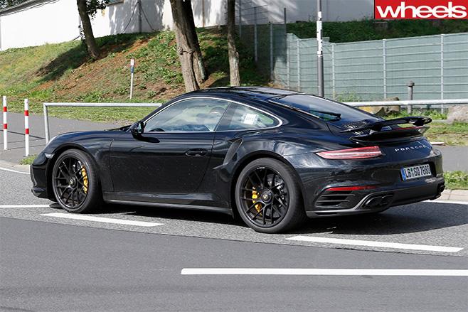 Porsche -911-side