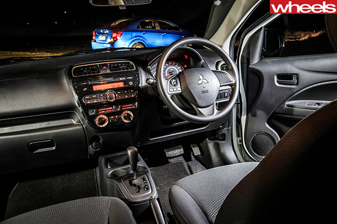 Mitsubishi -Mirage -interior