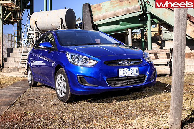 Hyundai -Accent -front