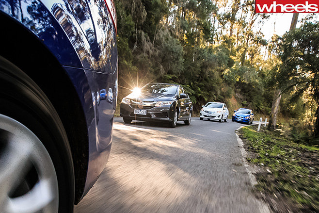 Budget -sedans -driving
