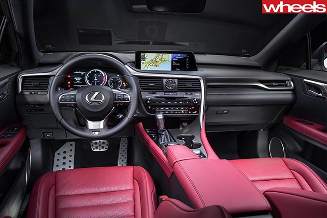 Lexus -RX350-F-Sport -interior-