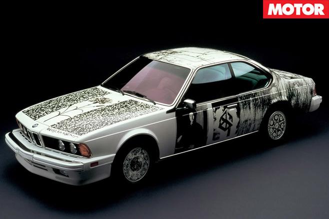 Bmw 635 csi art car