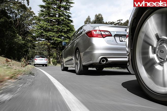 Family -sedan -comparo -driving