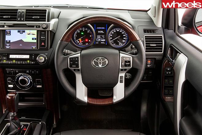 Toyota -prado -review -interior
