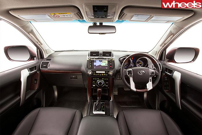Toyota -prado -cockpit