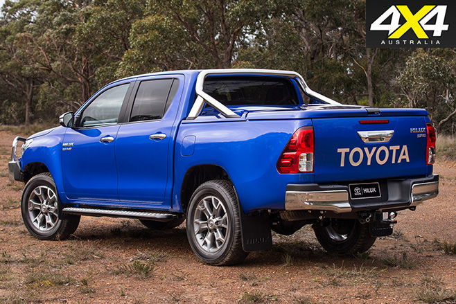 Toyota hilux accessories 2