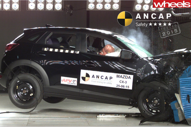 Mazda  Cx  3 Crash  Test U201c