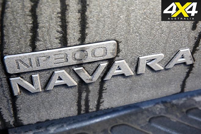 Nissan -navara -badge