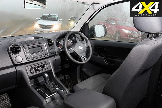 Volkswagen -amarok -cabin