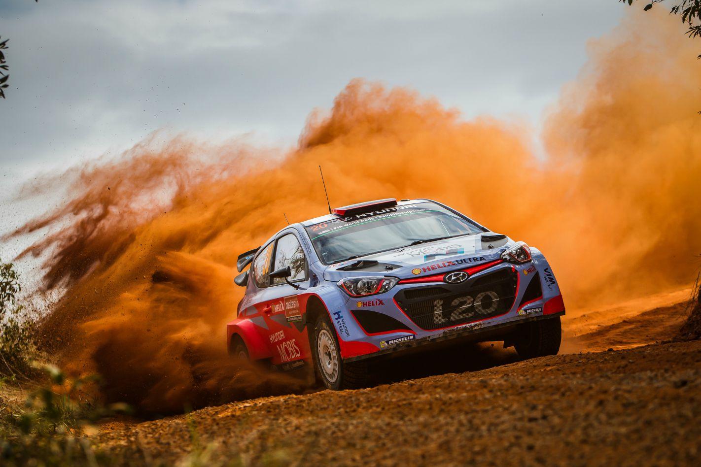 Dani Sordo Hyundai WRC Rally Australia