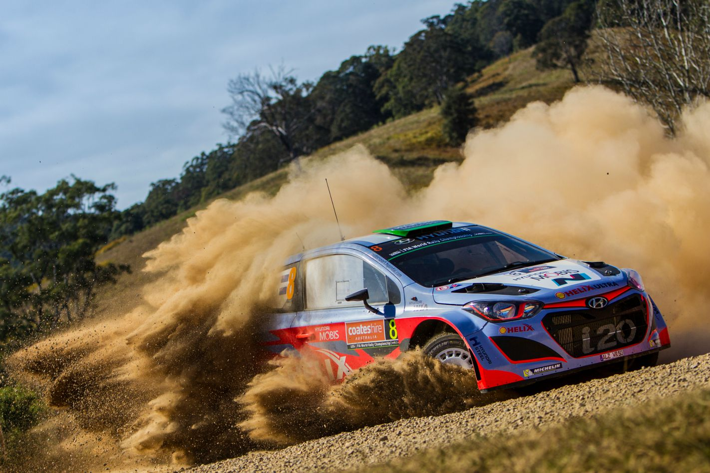 WRC Rally Australia Haydon Paddon