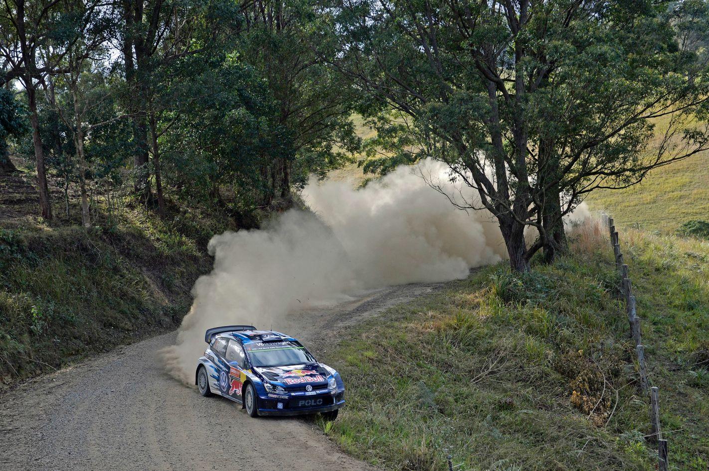 WRC Rally Australian Sebastien Ogier