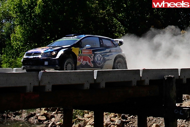Sebastien -Ogier -crosses -bridge -in -WRC