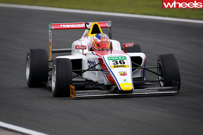 Australian -Joey -Mawson -wins -German -F4-race