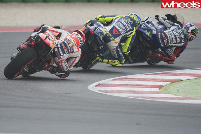 Moto GP-race