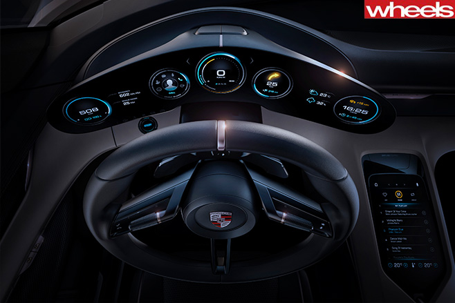 Porsche -Mission -E-cockpit