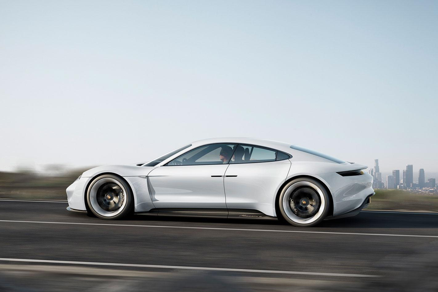 Porsche -Mission -E-profile