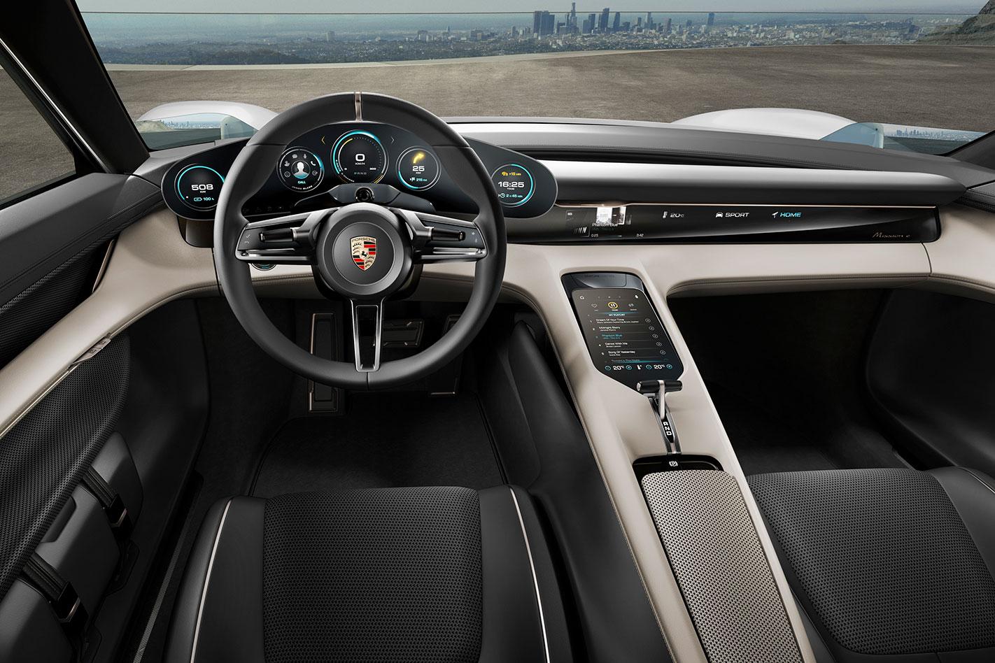 Porsche -Mission -E-interior