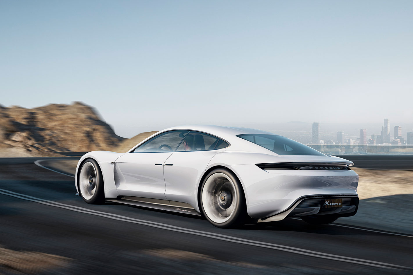 Porsche -Mission -E-rear