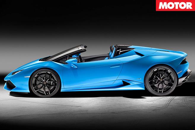 Lamborghini reveals Huracan LP610-4 Spyder 3
