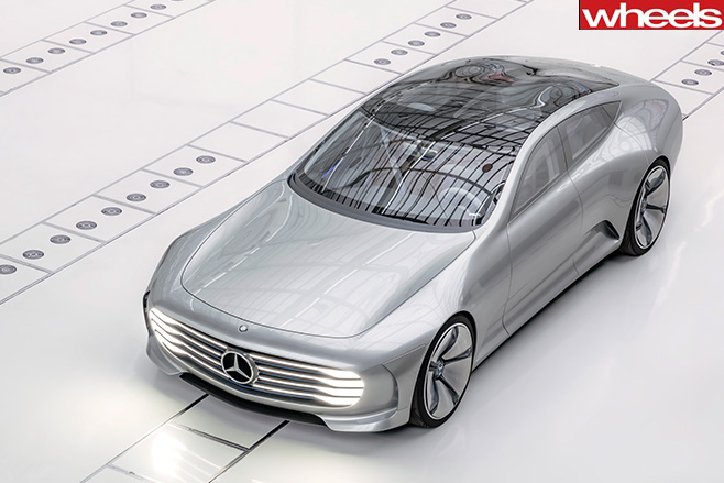 Mercedes -Concept -IAA-shape -shifting -coupe -front